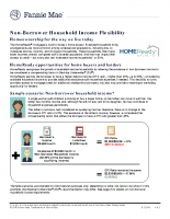 HomeReady® Non-Borrower Household Income Flexibility